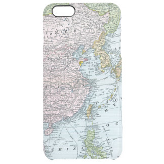 MAP: EAST ASIA, 1907 CLEAR iPhone 6 PLUS CASE