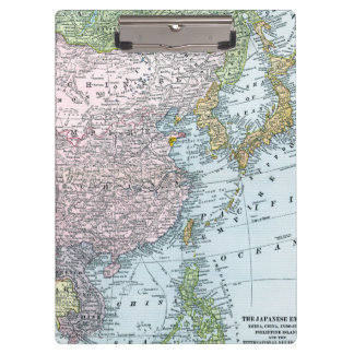 MAP: EAST ASIA, 1907 CLIPBOARD