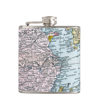 MAP: EAST ASIA, 1907 FLASK