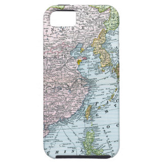 MAP: EAST ASIA, 1907 iPhone 5 COVER