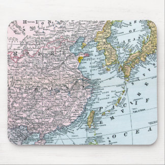 MAP: EAST ASIA, 1907 MOUSE PAD