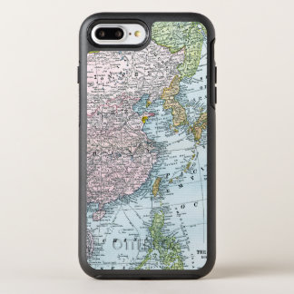 MAP: EAST ASIA, 1907 OtterBox SYMMETRY iPhone 7 PLUS CASE