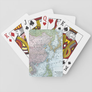 MAP: EAST ASIA, 1907 POKER DECK