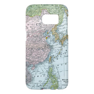 MAP: EAST ASIA, 1907 SAMSUNG GALAXY S7 CASE