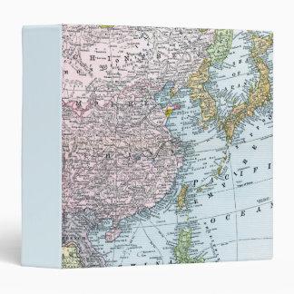 MAP: EAST ASIA, 1907 VINYL BINDER