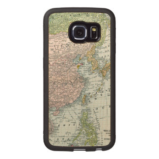 MAP: EAST ASIA, 1907 WOOD PHONE CASE