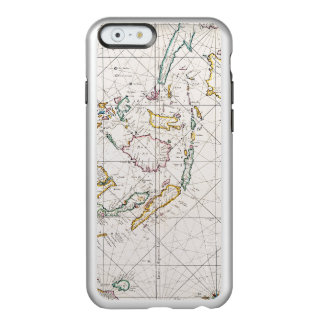 MAP: EAST INDIES, 1670 INCIPIO FEATHER® SHINE iPhone 6 CASE