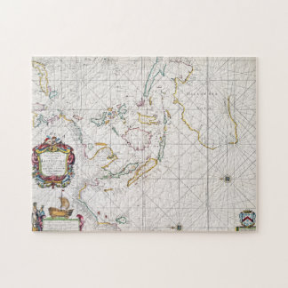 MAP: EAST INDIES, 1670 PUZZLE