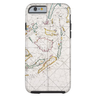 MAP: EAST INDIES, 1670 TOUGH iPhone 6 CASE