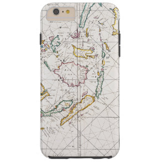 MAP: EAST INDIES, 1670 TOUGH iPhone 6 PLUS CASE