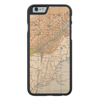 MAP: EASTERN CANADA CARVED® MAPLE iPhone 6 CASE