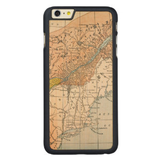 MAP: EASTERN CANADA CARVED® MAPLE iPhone 6 PLUS CASE
