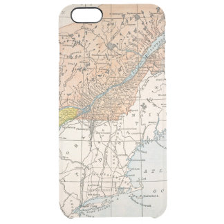 MAP: EASTERN CANADA CLEAR iPhone 6 PLUS CASE