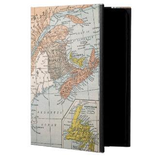 MAP: EASTERN CANADA iPad AIR CASE