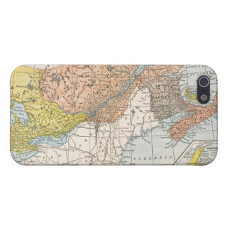 MAP: EASTERN CANADA iPhone 5 CASE