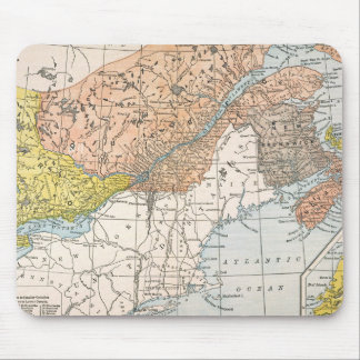 MAP: EASTERN CANADA MOUSE PAD