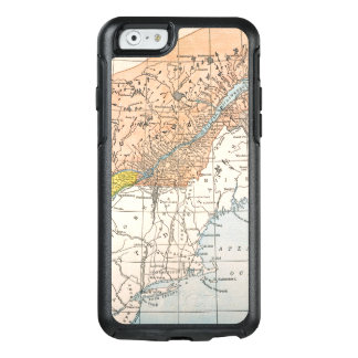 MAP: EASTERN CANADA OtterBox iPhone 6/6S CASE