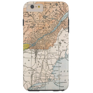 MAP: EASTERN CANADA TOUGH iPhone 6 PLUS CASE