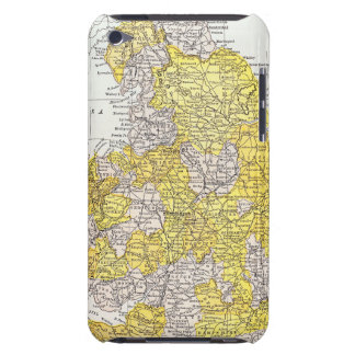 MAP: ENGLAND & WALES BARELY THERE iPod CASE