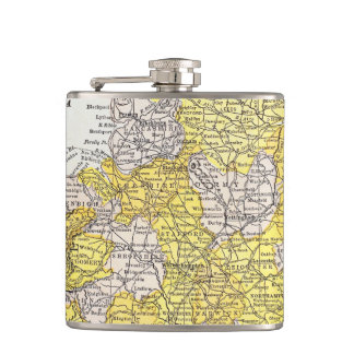 MAP: ENGLAND & WALES FLASKS