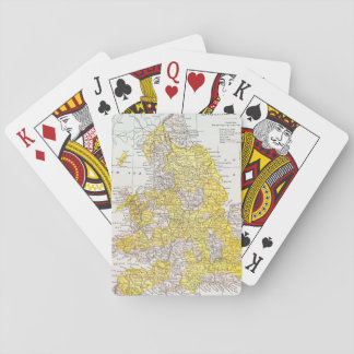 MAP: ENGLAND & WALES POKER DECK