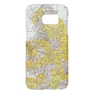 MAP: ENGLAND & WALES SAMSUNG GALAXY S7 CASE