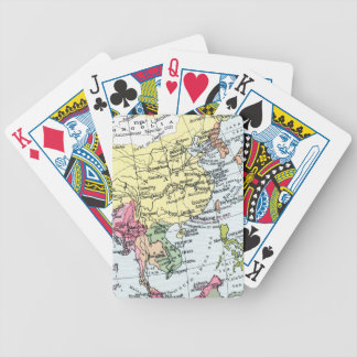 MAP: EUROPE IN ASIA BICYCLE PLAYING CARDS