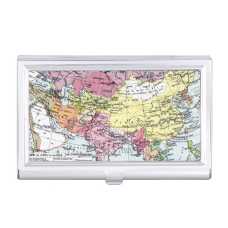 MAP: EUROPE IN ASIA BUSINESS CARD HOLDER