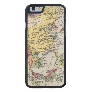 MAP: EUROPE IN ASIA CARVED® MAPLE iPhone 6 SLIM CASE