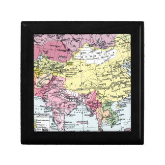 MAP: EUROPE IN ASIA JEWELRY BOXES