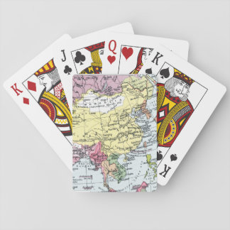 MAP: EUROPE IN ASIA POKER DECK