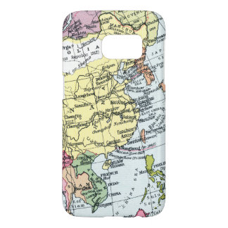 MAP: EUROPE IN ASIA SAMSUNG GALAXY S7 CASE