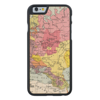 MAP: EXPANSION OF RUSSIA CARVED® MAPLE iPhone 6 CASE