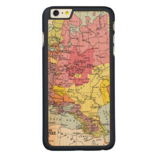 MAP: EXPANSION OF RUSSIA CARVED® MAPLE iPhone 6 PLUS CASE