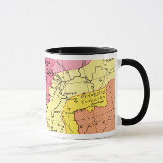 MAP: EXPANSION OF RUSSIA MUG