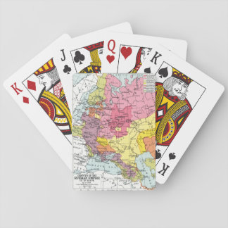 MAP: EXPANSION OF RUSSIA PLAYING CARDS