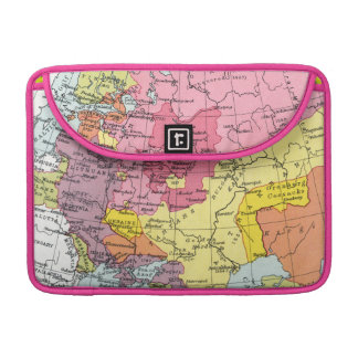 MAP: EXPANSION OF RUSSIA SLEEVES FOR MacBook PRO