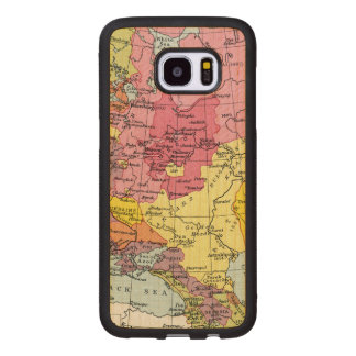 MAP: EXPANSION OF RUSSIA WOOD SAMSUNG GALAXY S7 EDGE CASE