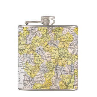 MAP: FRANCE FLASKS