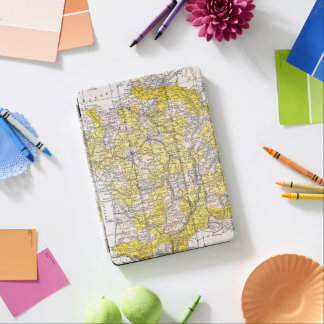 MAP: FRANCE iPad AIR COVER