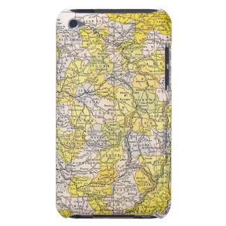 MAP: FRANCE iPod TOUCH CASES