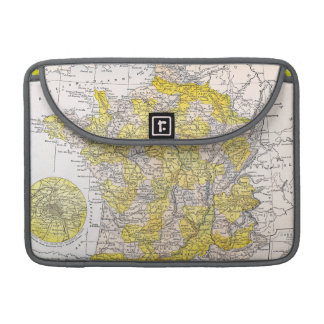 MAP: FRANCE SLEEVE FOR MacBook PRO