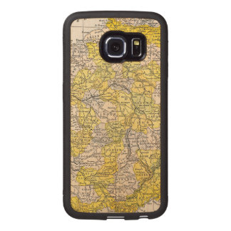 MAP: FRANCE WOOD PHONE CASE
