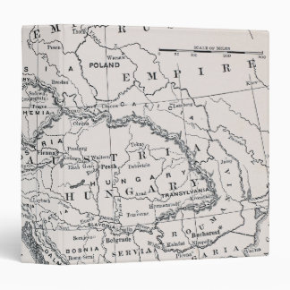 MAP: GERMANY AND AUSTRIA 3 RING BINDERS