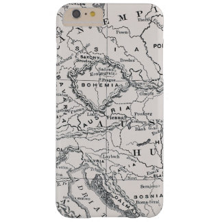 MAP: GERMANY AND AUSTRIA BARELY THERE iPhone 6 PLUS CASE