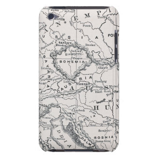 MAP: GERMANY AND AUSTRIA BARELY THERE iPod CASES