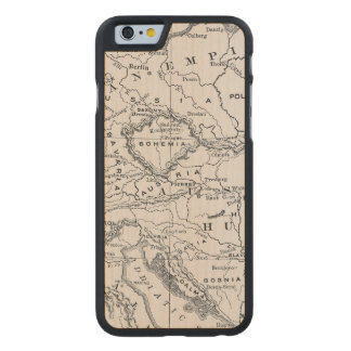 MAP: GERMANY AND AUSTRIA CARVED® MAPLE iPhone 6 CASE