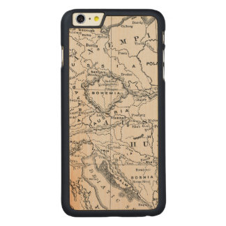 MAP: GERMANY AND AUSTRIA CARVED® MAPLE iPhone 6 PLUS CASE