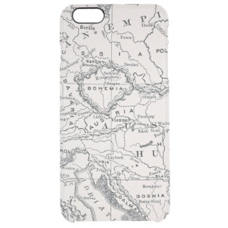 MAP: GERMANY AND AUSTRIA CLEAR iPhone 6 PLUS CASE