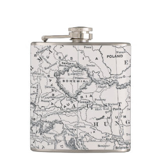 MAP: GERMANY AND AUSTRIA FLASKS